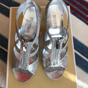 Michael Kors sparkly evening shoes